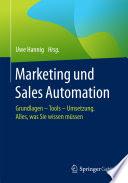 Andrew Sanderson beitrag Marketing Sales Automation herausgeber Hannig verlag Springer 2017